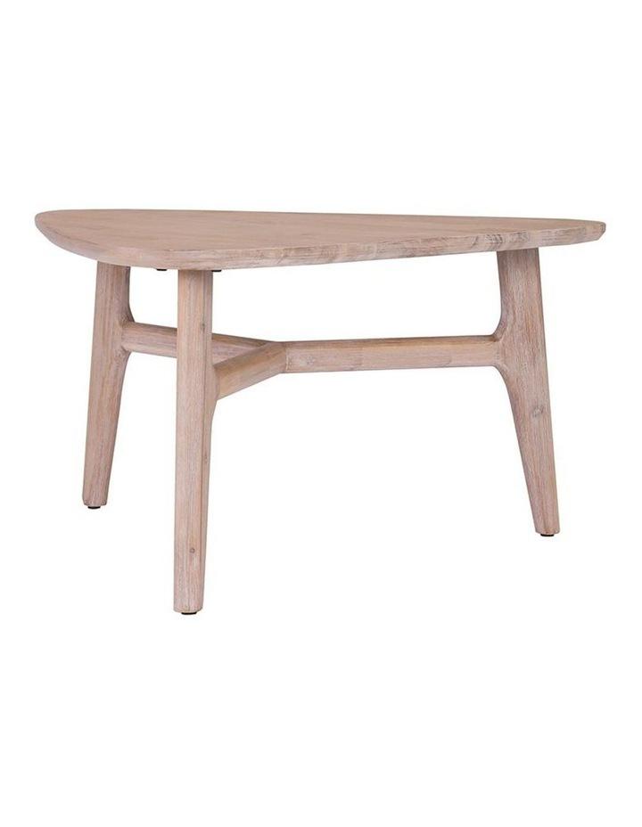 CORBIN Coffee Table Solid Wood - Havana Sandblast Colour image 2