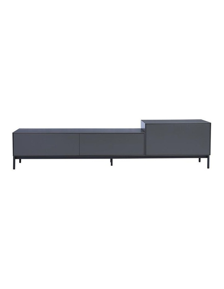 Lowell Tv Entertainment Unit - 180cm - Gunmetal Grey image 2