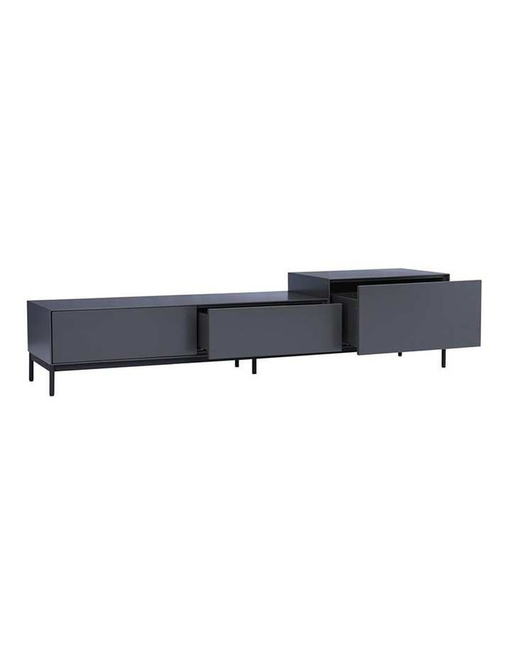 Lowell Tv Entertainment Unit - 180cm - Gunmetal Grey image 4