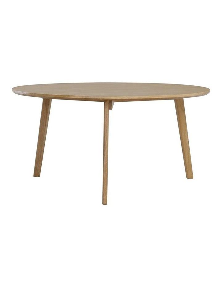 Oriel Coffee Table Round 90cm - Oak image 1