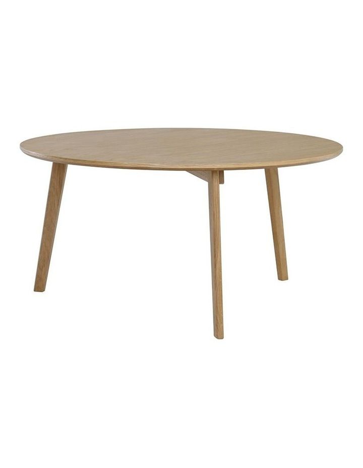 Oriel Coffee Table Round 90cm - Oak image 2