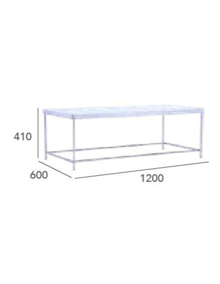 Cameo Coffee Table Rectangular 1.2M - Mirror image 6