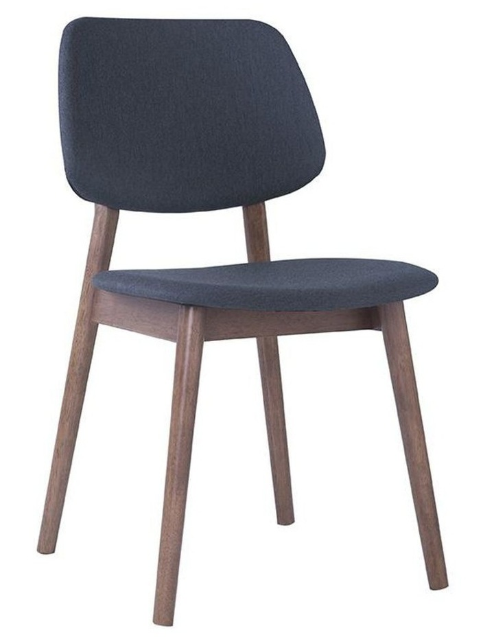 Mercy Dining Chair - Walnut/Dark Grey image 1