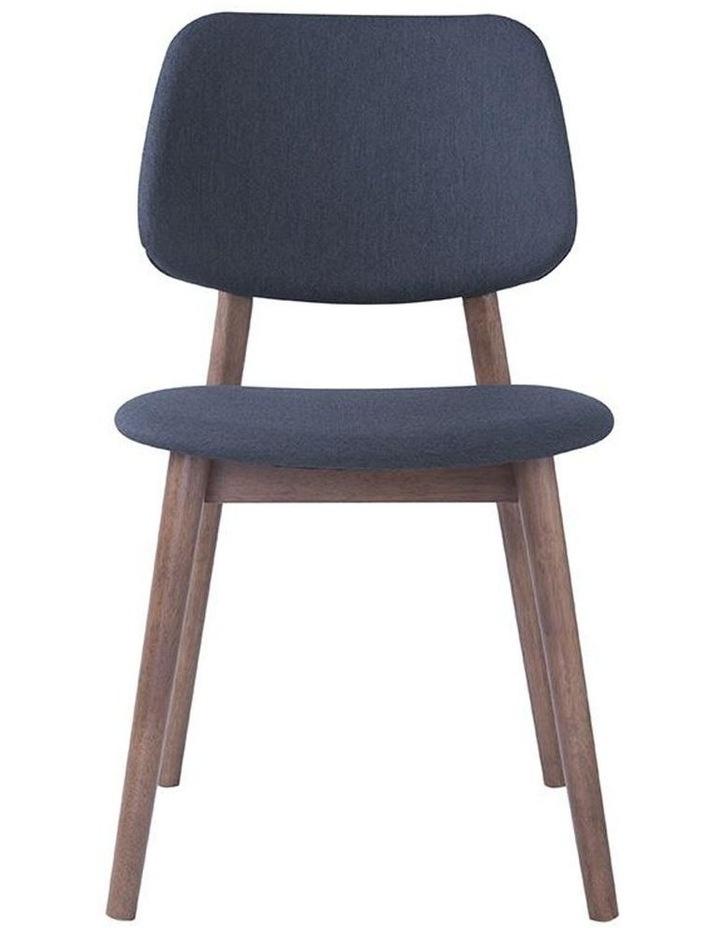 Mercy Dining Chair - Walnut/Dark Grey image 2