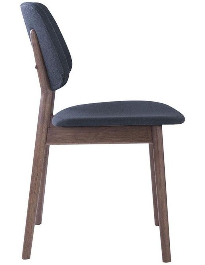Mercy Dining Chair - Walnut/Dark Grey image 3