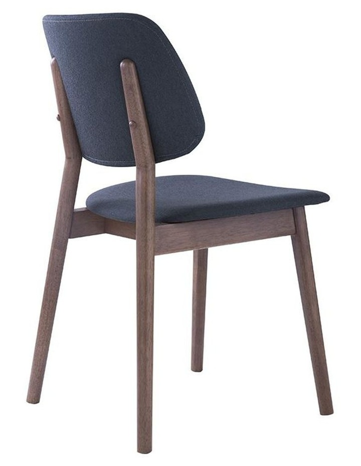 Mercy Dining Chair - Walnut/Dark Grey image 4