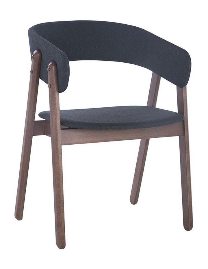 Goldy Dining Chair - Walnut/Dark Grey image 1