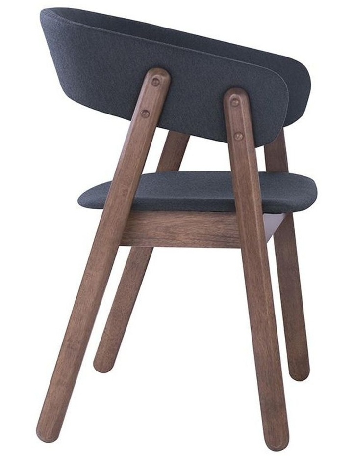 Goldy Dining Chair - Walnut/Dark Grey image 2