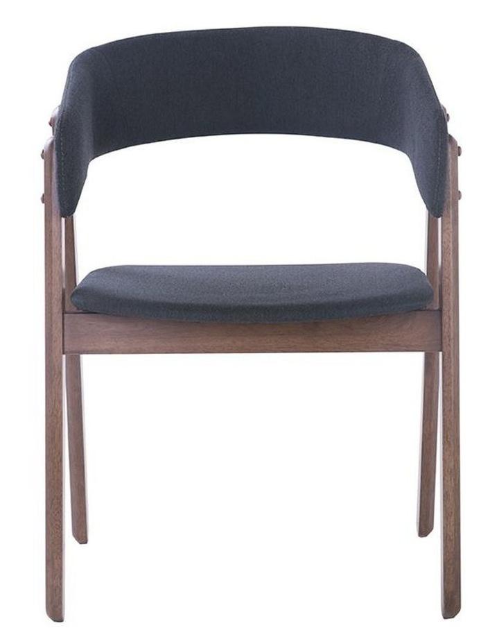 Goldy Dining Chair - Walnut/Dark Grey image 3