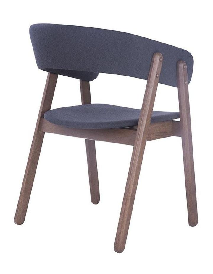 Goldy Dining Chair - Walnut/Dark Grey image 4