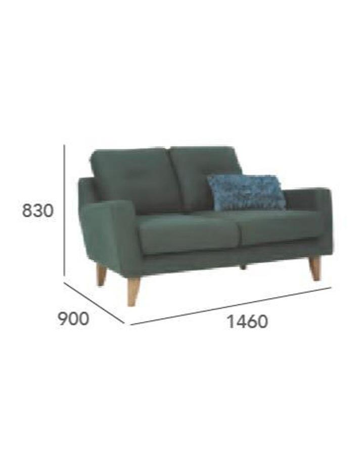 Malibu 2 Seater Sofa - Marble Blue image 3