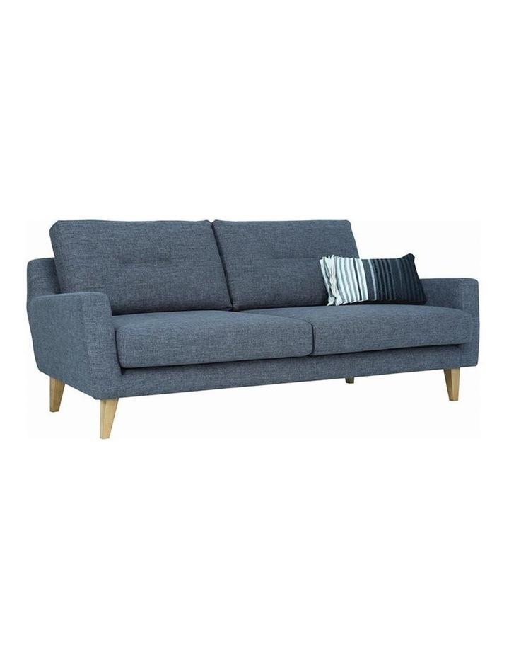 Malibu 3 Seater Sofa - Marble Blue image 1