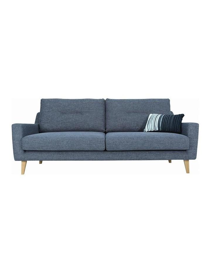 Malibu 3 Seater Sofa - Marble Blue image 2