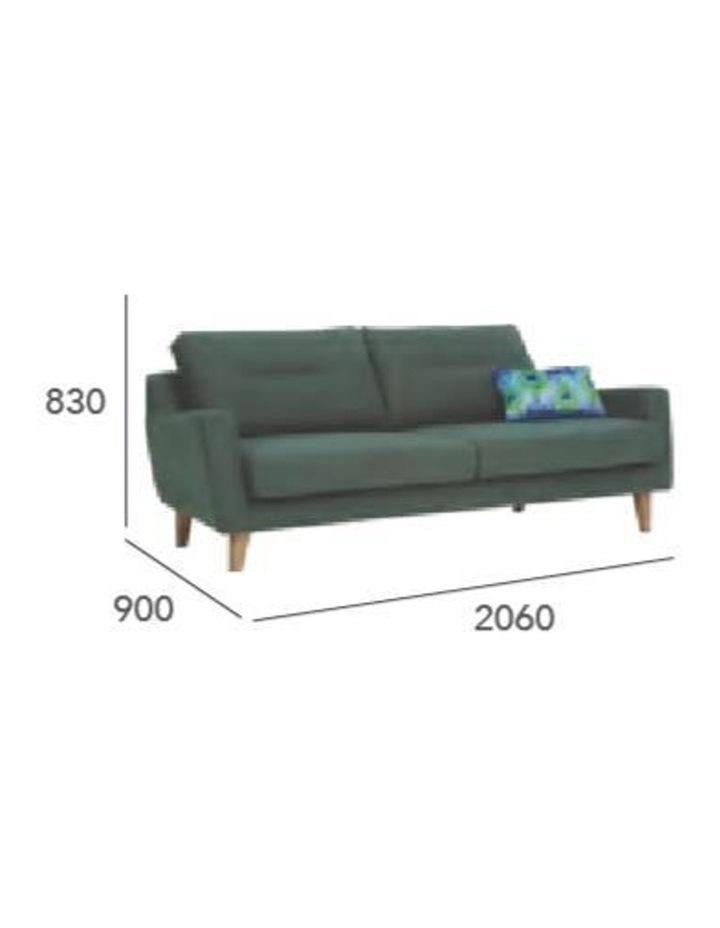 Malibu 3 Seater Sofa - Marble Blue image 3