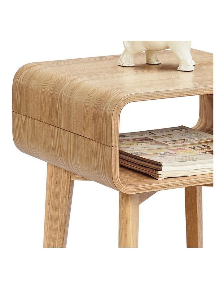 KAIA Bedside Side Table - Ash Veneer image 1