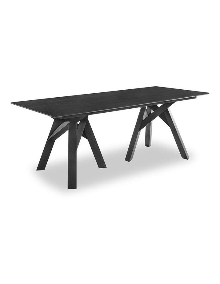 Monty Dining Table 2.0M - Black image 1