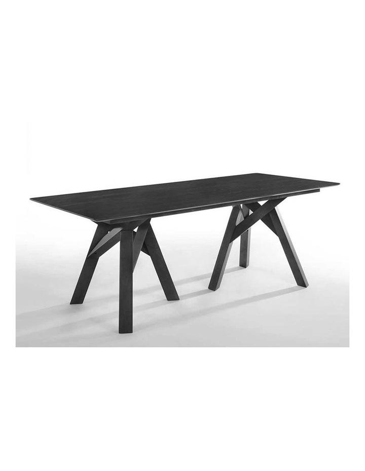 Monty Dining Table 2.0M - Black image 2