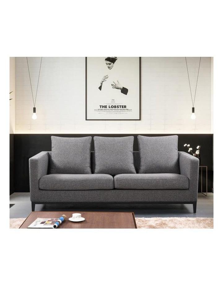 Lyra 3 Seater Sofa - Grey image 6