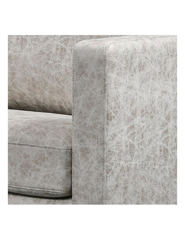 Rylan 3 Seater Sofa - Taupe Grey image 4