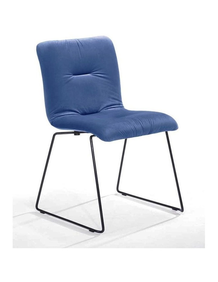 Norvin Dining Chair - Black & Blue image 1