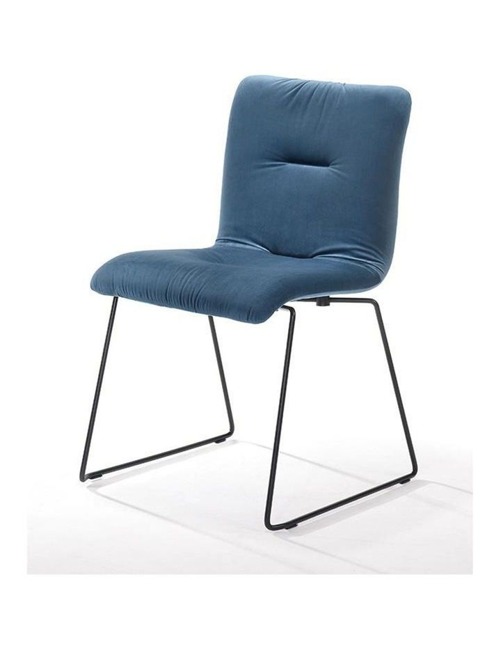 Norvin Dining Chair - Black & Blue image 2