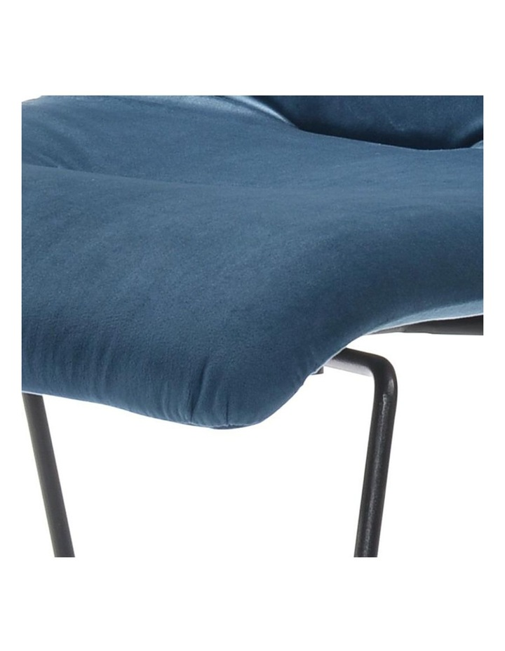 Norvin Dining Chair - Black & Blue image 3
