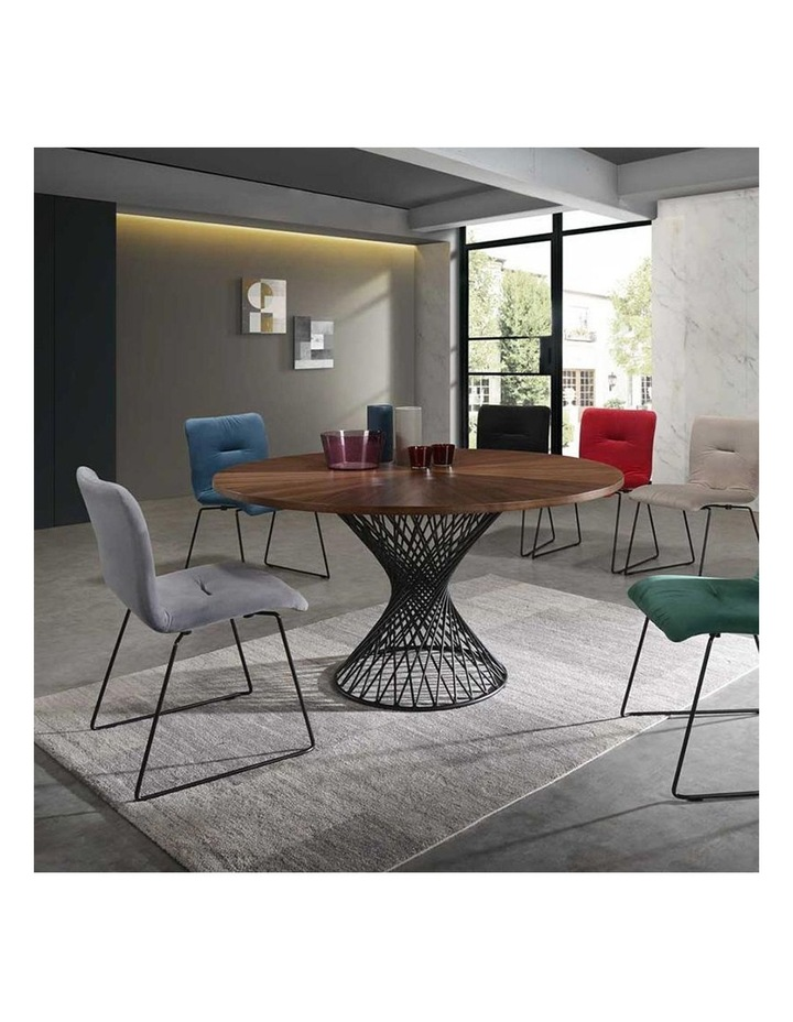 Norvin Dining Chair - Black & Blue image 4