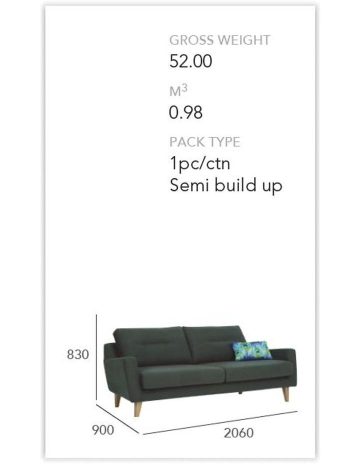 Malibu 3 Seater Sofa - Seal image 3