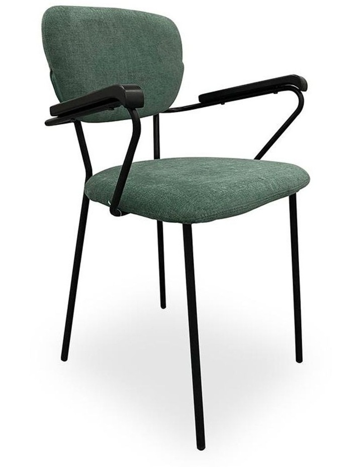 Kelby Arm Chair - Jade   Black image 1