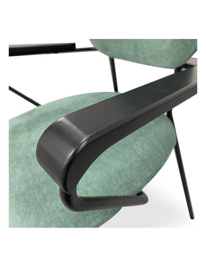 Kelby Arm Chair - Jade   Black image 3