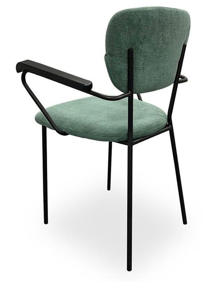 Kelby Arm Chair - Jade   Black image 4
