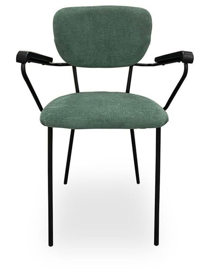 Kelby Arm Chair - Jade   Black image 5