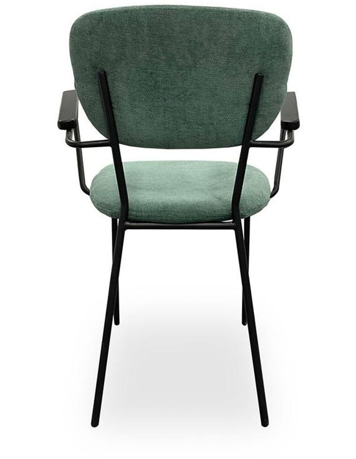 Kelby Arm Chair - Jade   Black image 6