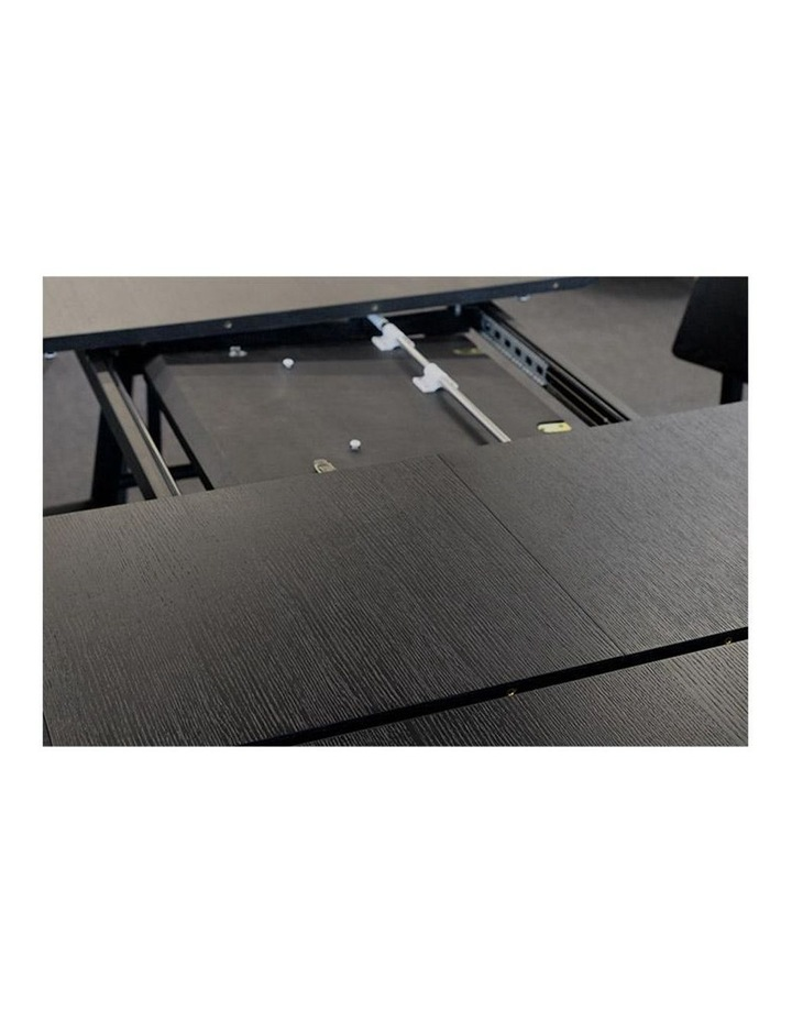 Gosta 1.8-2.7M Extendable Dining Table - Black Ash image 2