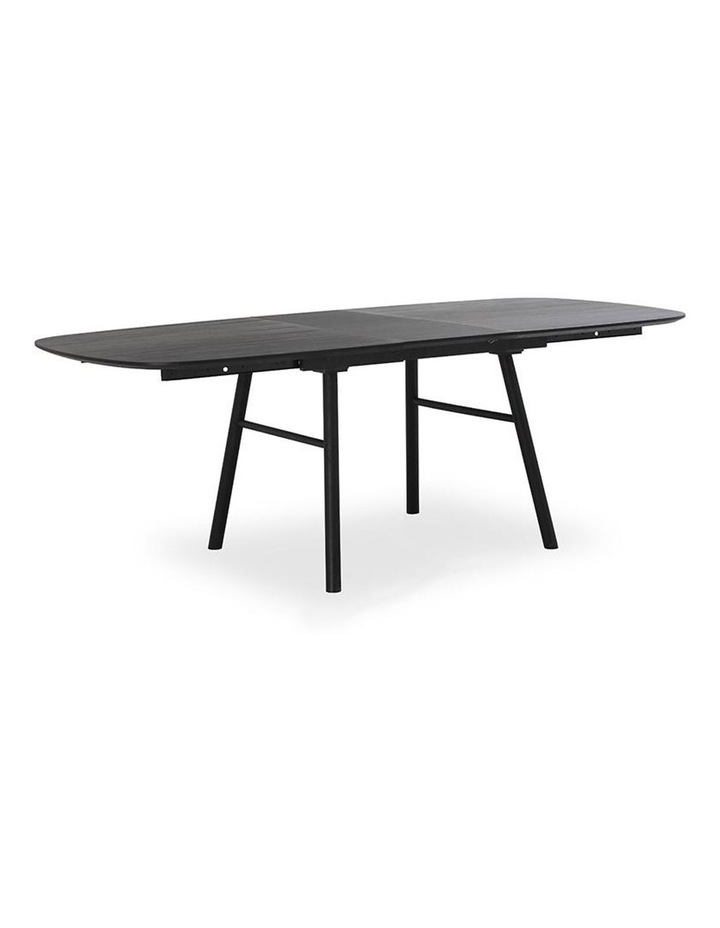 Gosta 1.8-2.7M Extendable Dining Table - Black Ash image 3