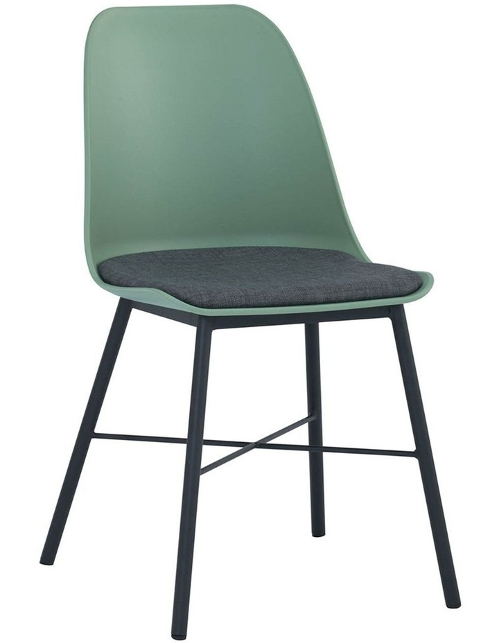 Laxmi Dining Chair - Dusty Green & Black image 1