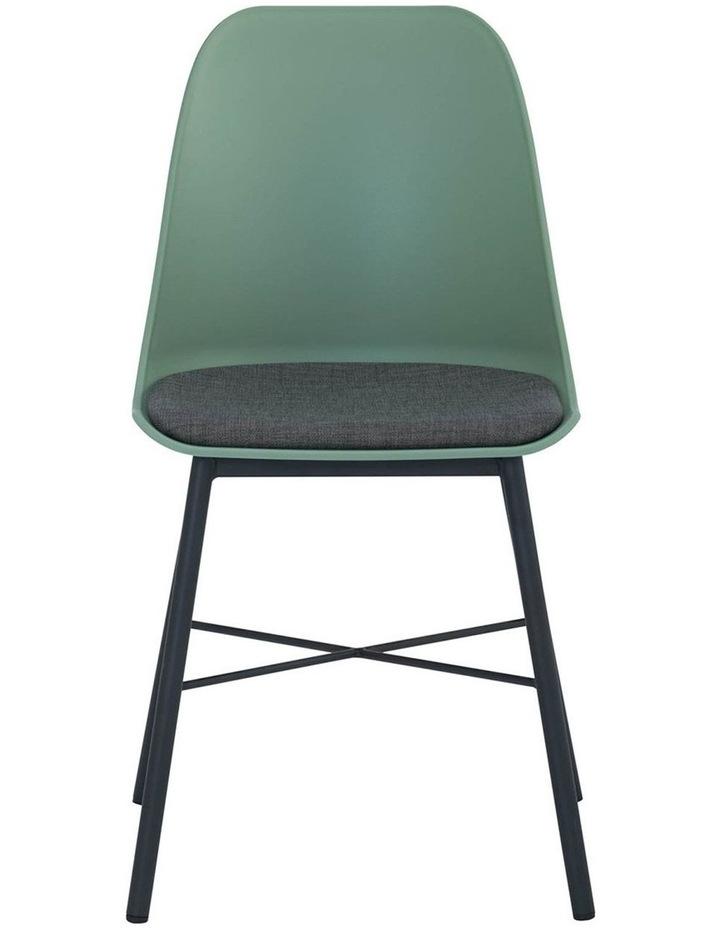 Laxmi Dining Chair - Dusty Green & Black image 2