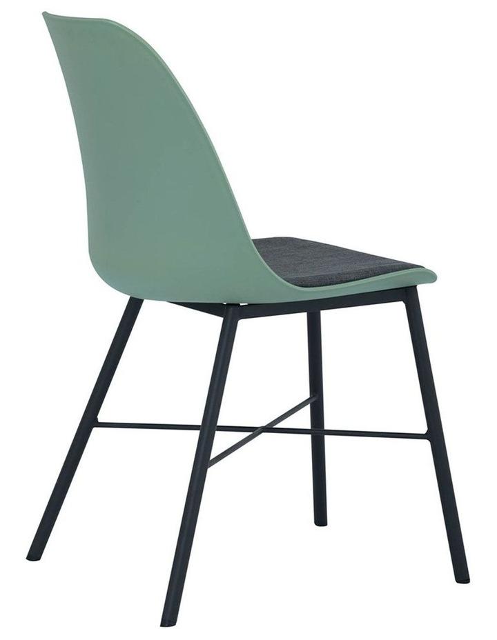 Laxmi Dining Chair - Dusty Green & Black image 3