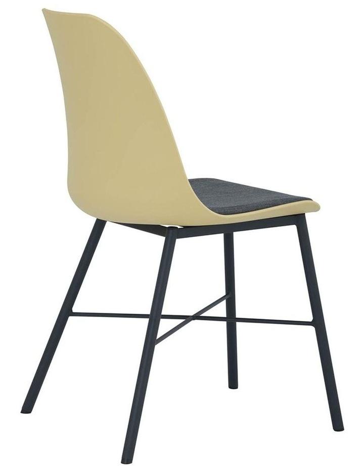 Laxmi Dining Chair - Dusty Yellow & Black image 3