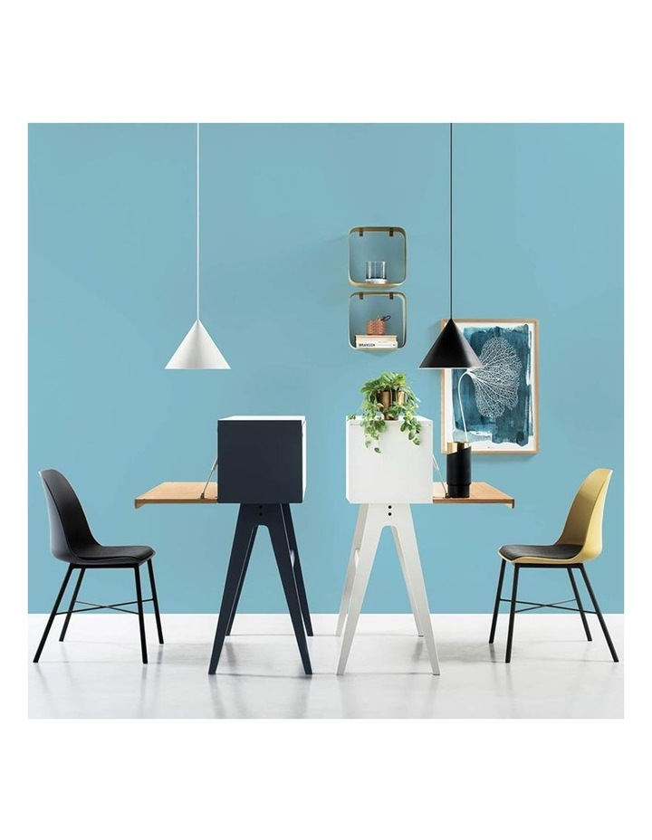 Laxmi Dining Chair - Dusty Yellow & Black image 4