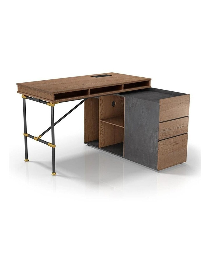 Parker  Executive Office Desk  With Right Return 1.4M - Tobacco
