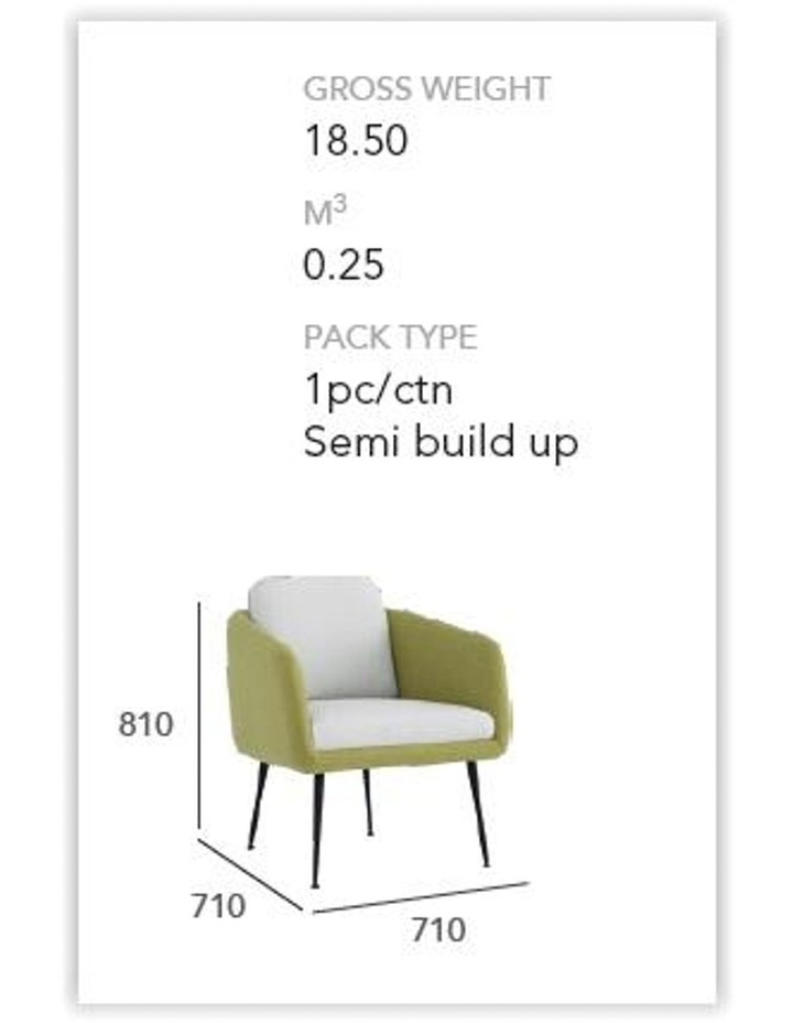 Cougar Lounge Chair - Twilight & Grey image 4