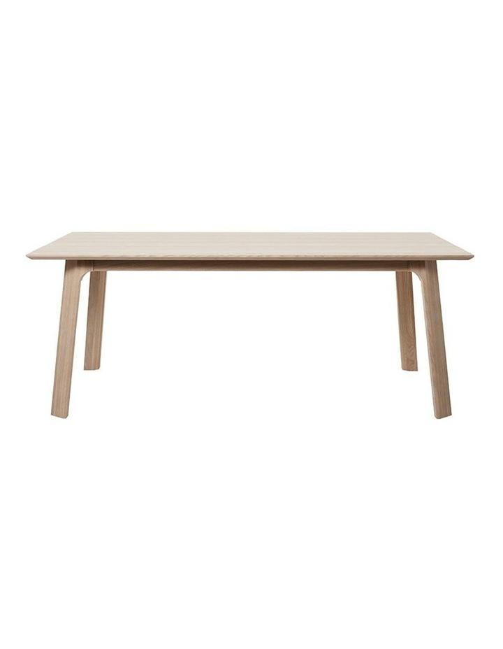Capri Dining Table 2.0M -  Natural image 1