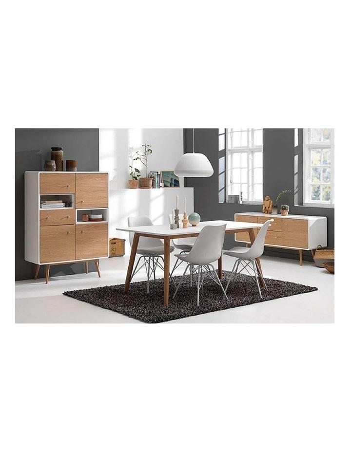 KAISU Sideboard 150cm - Natural & White image 2