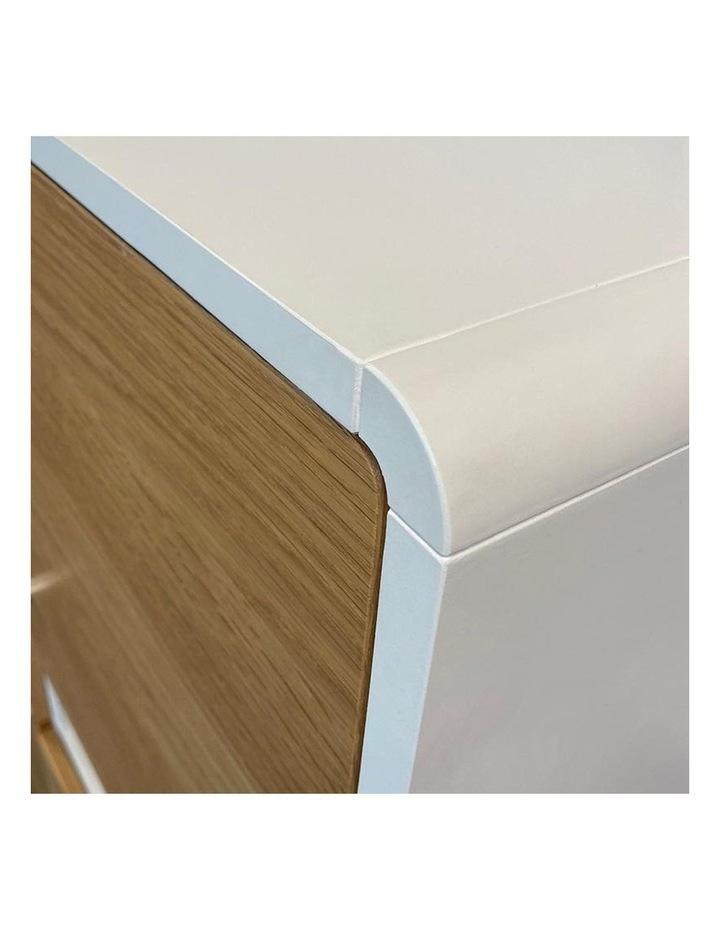 KAISU Sideboard 150cm - Natural & White image 3