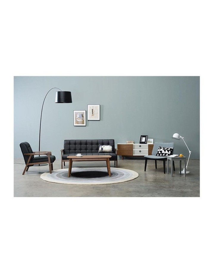 Tucson 3 Seater Sofa In Black image 2