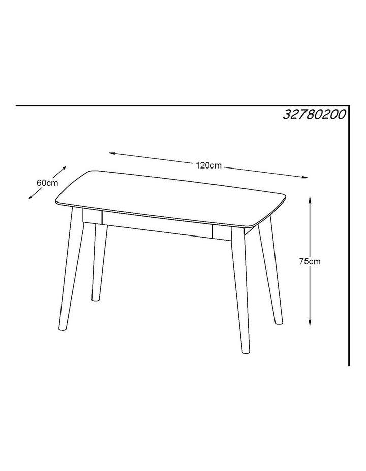 JAREL Study Desk 120cm -  Natural image 7