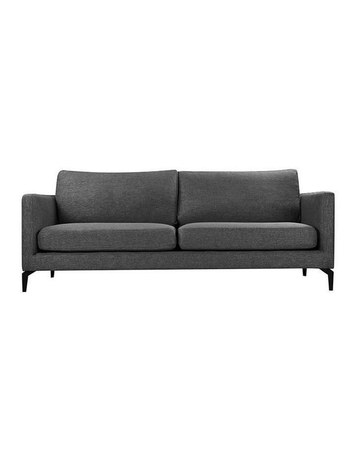 Gizi 3 Seater Sofa - Dark Grey image 2