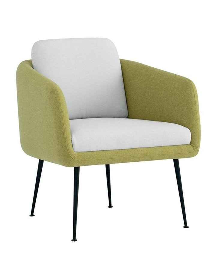 Cougar Lounge Chair - Tea Green & Pale Golden image 1