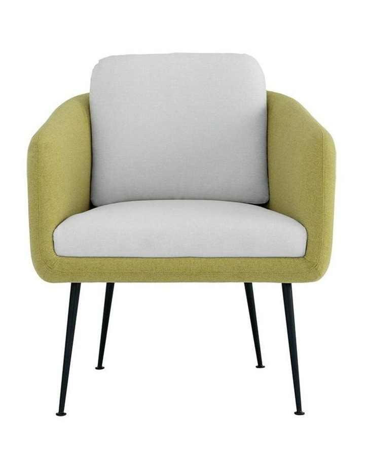 Cougar Lounge Chair - Tea Green & Pale Golden image 2